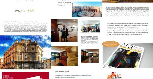 16.9. Eröffnung 1st Art Palermo International Biennial